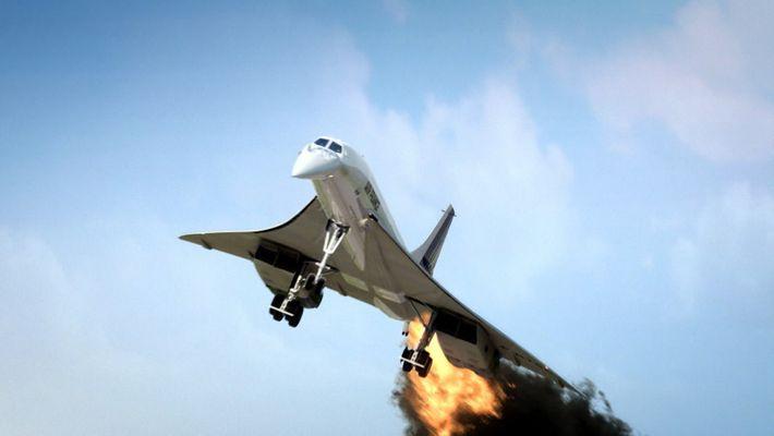 El acidente del Concorde