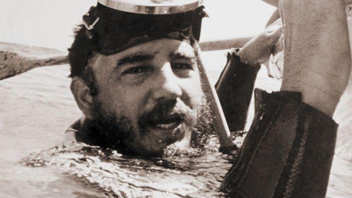 Fidel Castro the underwater kill atempts