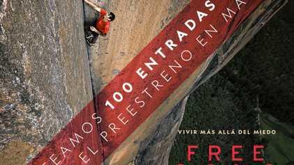 Bases legales del concurso para asistir al preestreno de Free Solo en Madrid