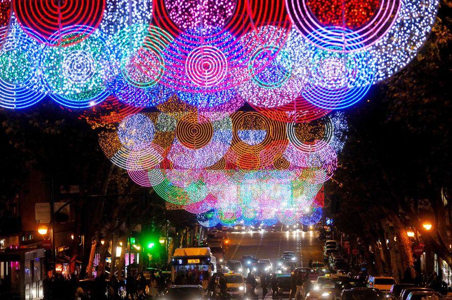 Alumbrado navideño de Madrid
