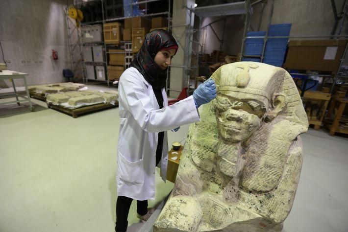 Los guardiantes del Tesoro de Egipto