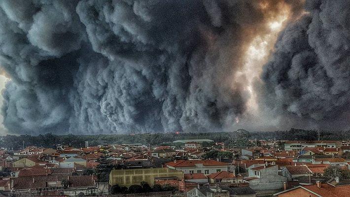 Incendio en Vieira de Leiria