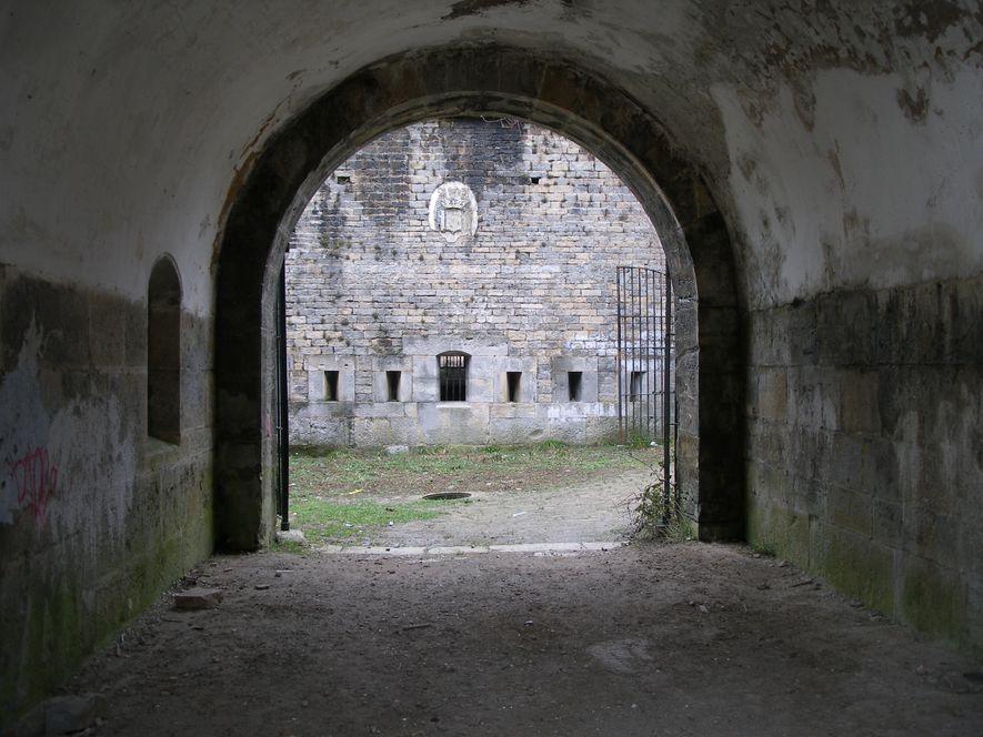 Entrada al fuerte de San Cristóbal
