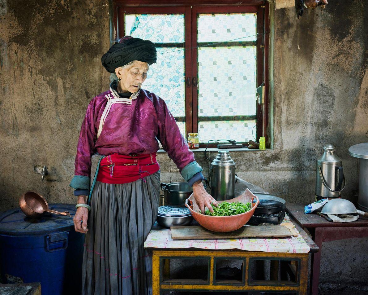 Geiku Dorma, de 77 años