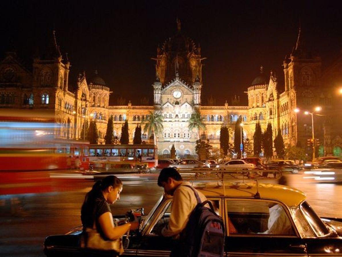 Estación en Mumbai