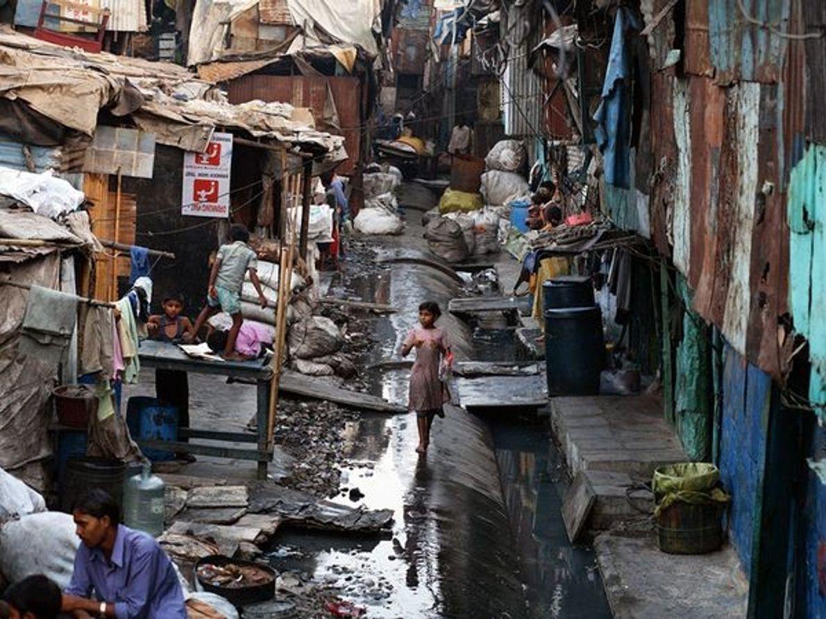 Suburbio de Dharavi