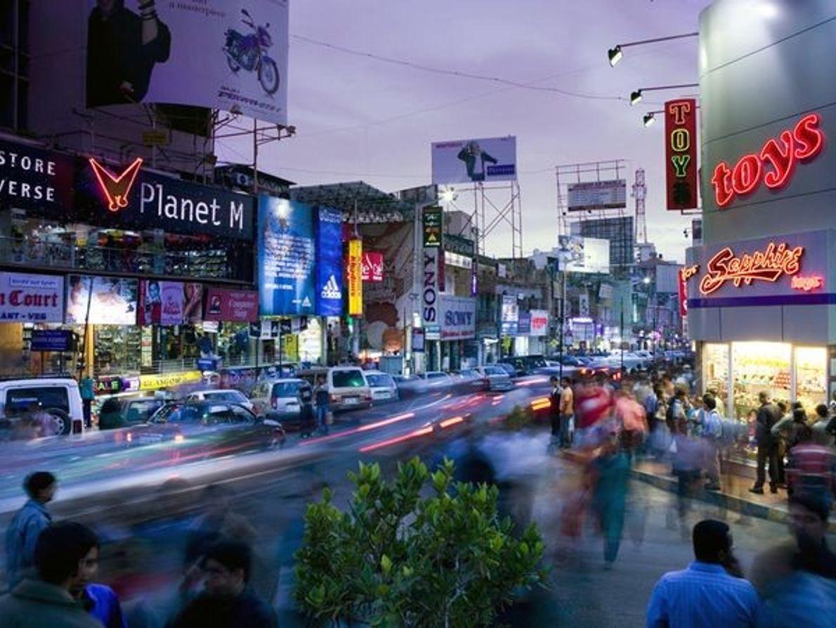 Brigade Road, Bangalore
