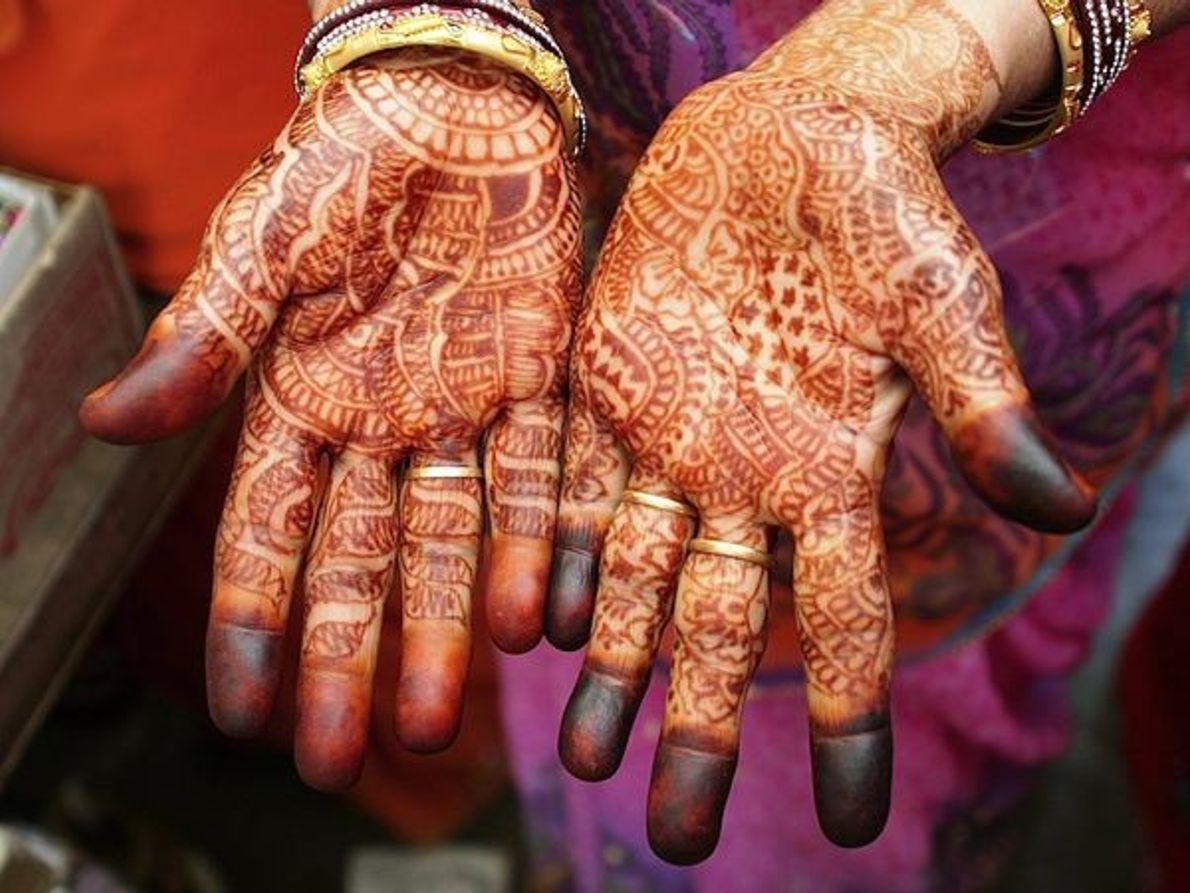 Manos de henna