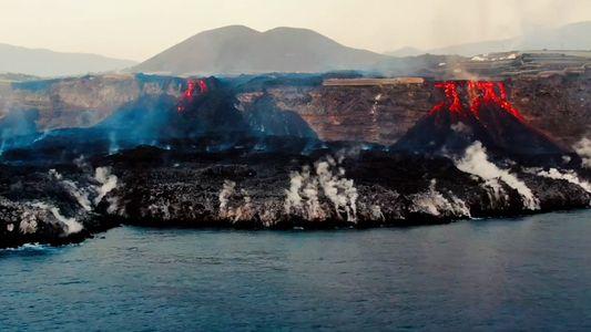 El delta de lava de La Palma