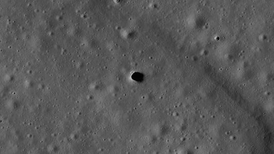 Los científicos podrían haber detectado tubos de lava enterrados en la Luna