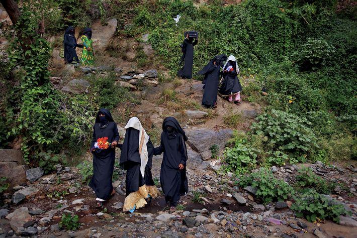 Novias en Yemen