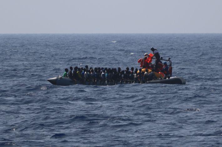 Refugiados Ocean Viking