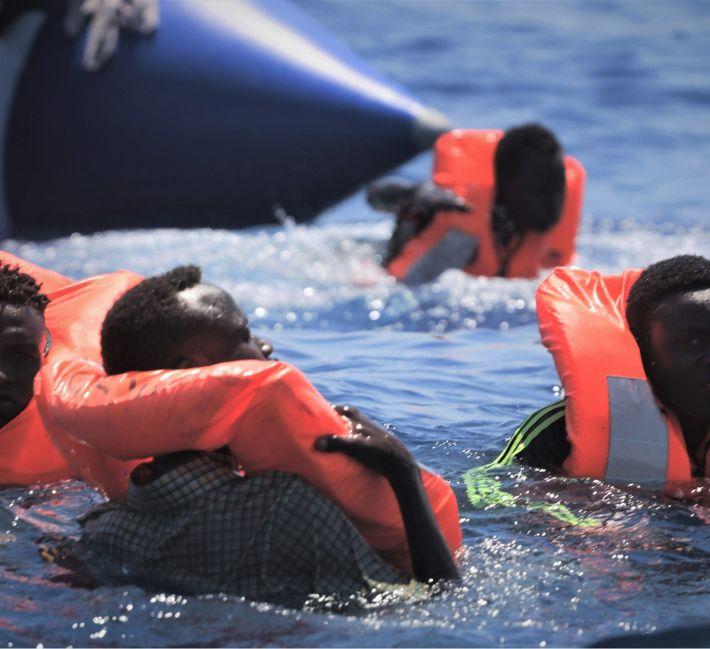 Refugiados Ocean Viking 02