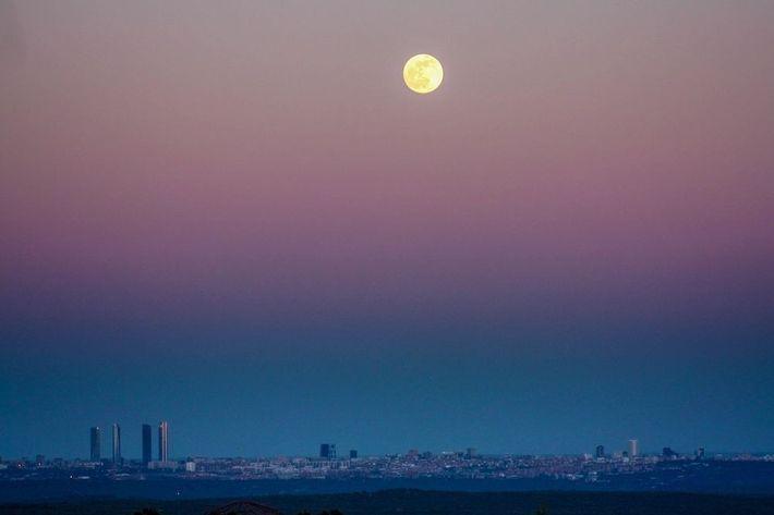 El skyline de Madrid