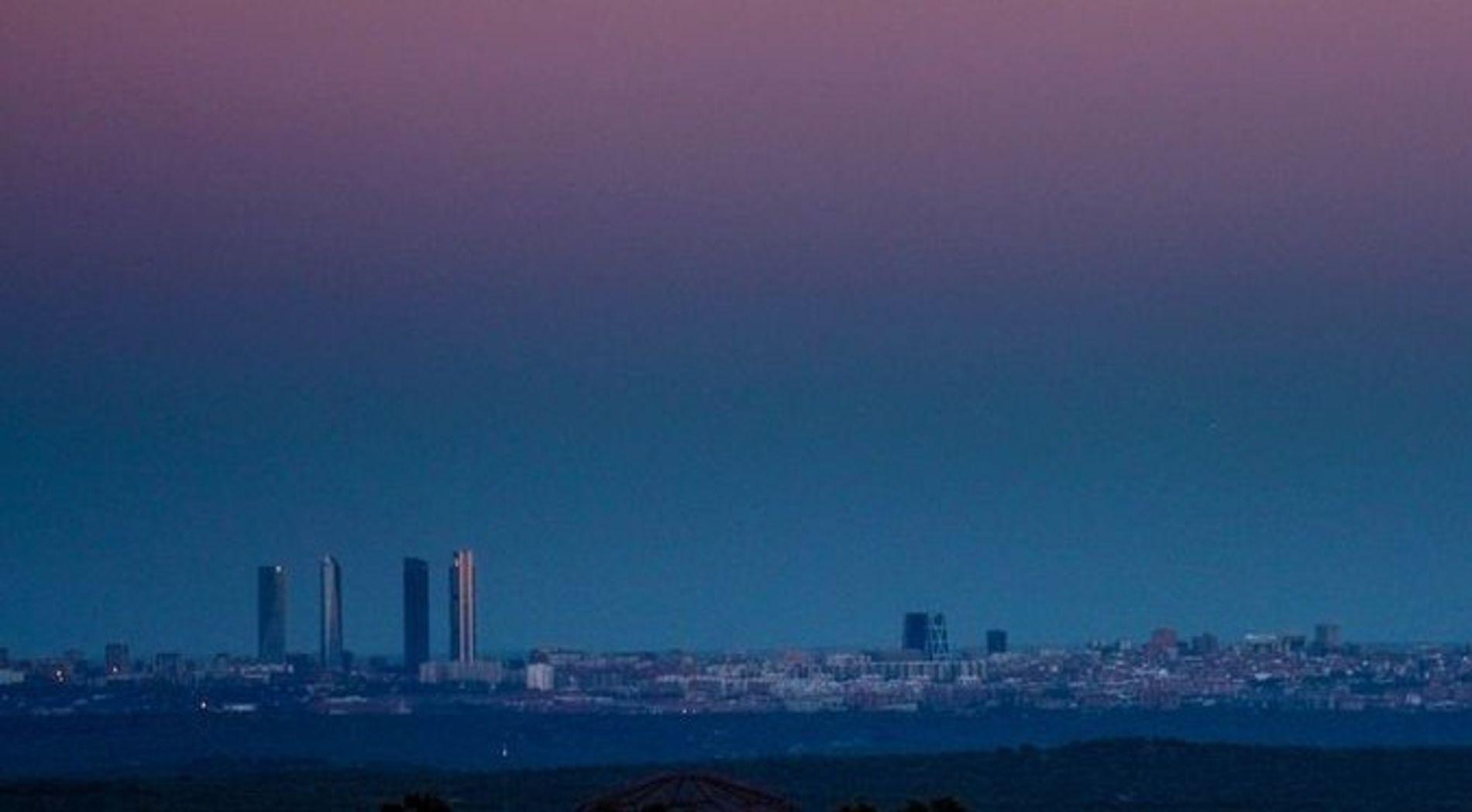 Contaminacion skyline Madrid