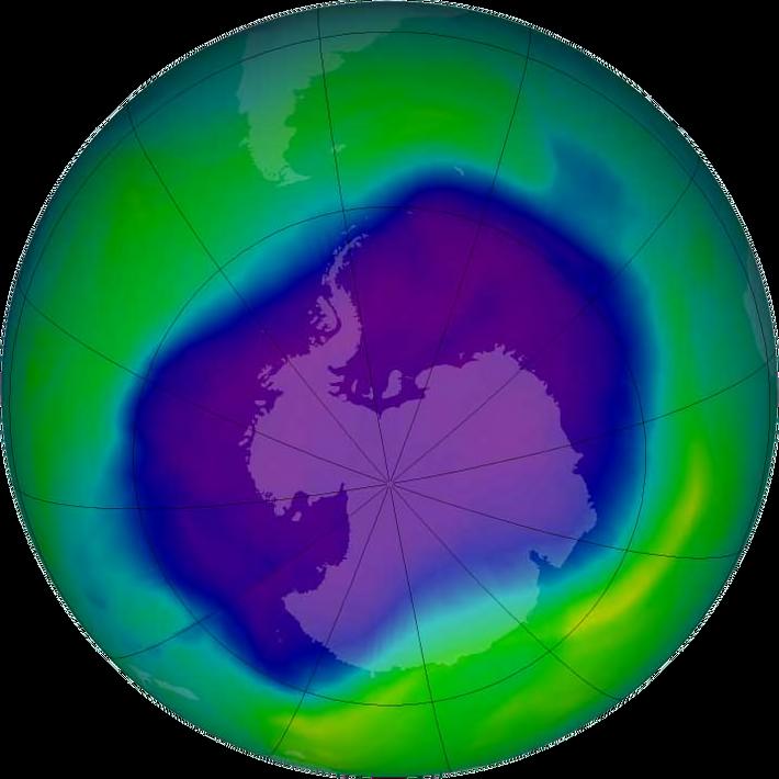 Capa de ozono se recupera 2060 01