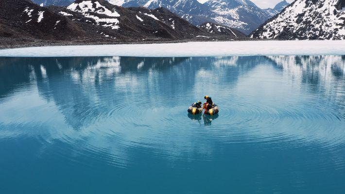 ¿Qué nos desvela el barro de los lagos glaciares sobre nuestra historia y nuestro futuro?