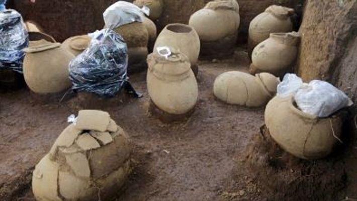 Descubiertas en Nicaragua urnas con restos humanos de 1.000 años de antigüedad