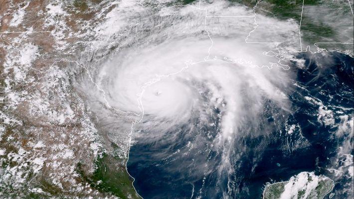 El huracán Harvey: una tormenta potencialmente mortal