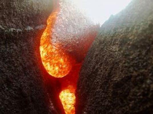 VÍDEO: Una GoPro cae en la lava del Kilauea y continúa grabando