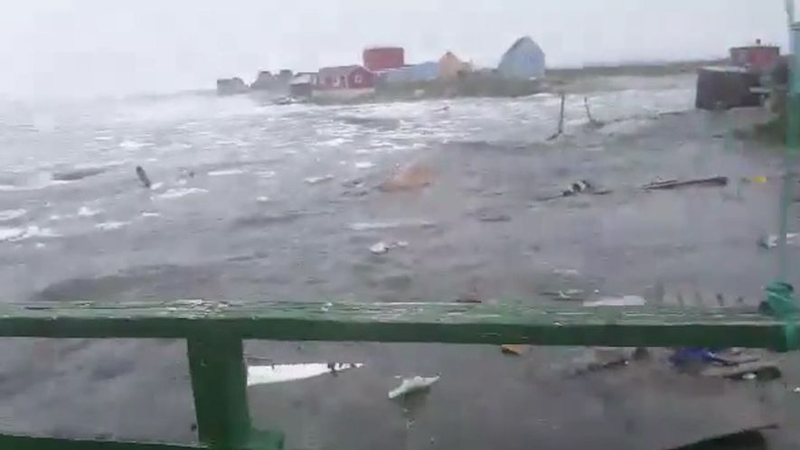 Imágenes del tsunami mortal que ha asolado Groenlandia