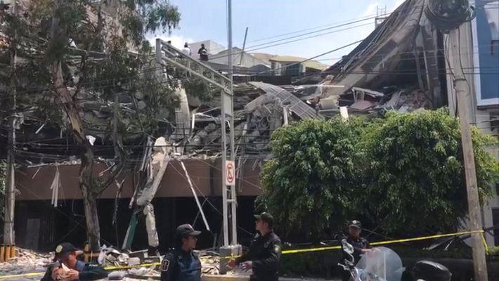 Un fuerte terremoto de magnitud 7,1 arrasa México