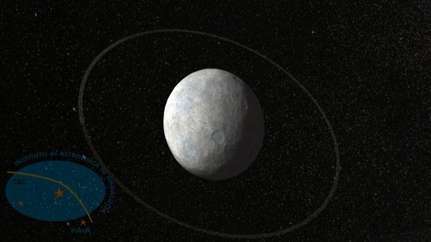 Descubiertos el primer anillo alrededor de un misterioso planeta enano cercano a Plutón