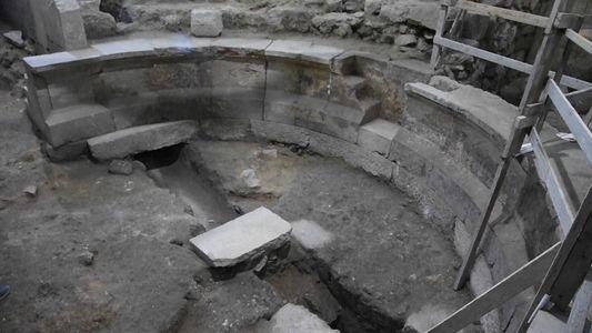 Un teatro romano ha sido descubierto bajo el Muro de las Lamentaciones