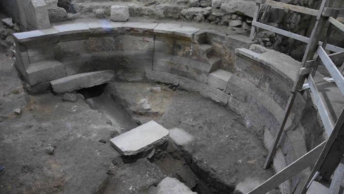 Un auditorio romano ha sido descubierto bajo el Muro de las Lamentaciones