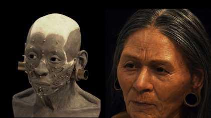 Reconstruido el rostro de una noble wari 1.200 años después de su muerte