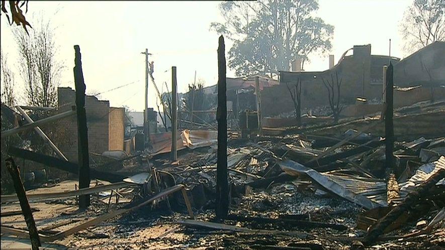 Los incendios forestales asedian el sureste de Australia