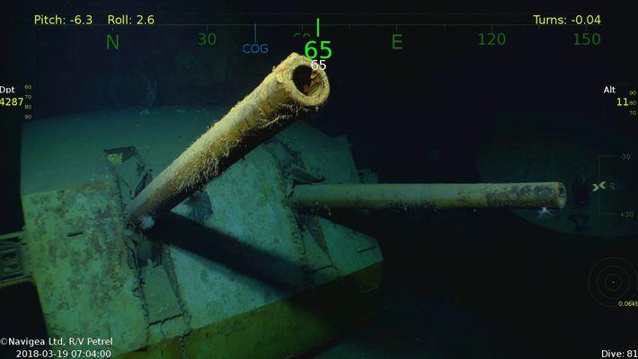 Descubierto el USS Juneau, de la II Guerra Mundial, famoso por los cinco hermanos Sullivan