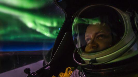 VÍDEO: Imágenes captadas por un avión de vigilancia U-2 dentro de una aurora boreal
