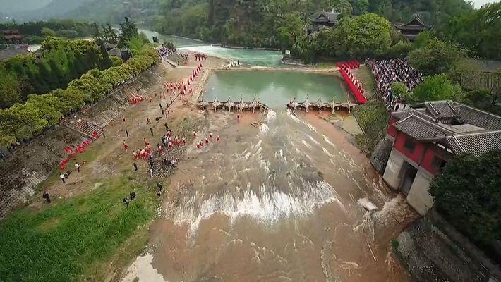 China celebra el Water Releasing Festival