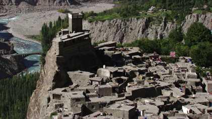 Restauran los fuertes medievales del histórico valle de Hunza