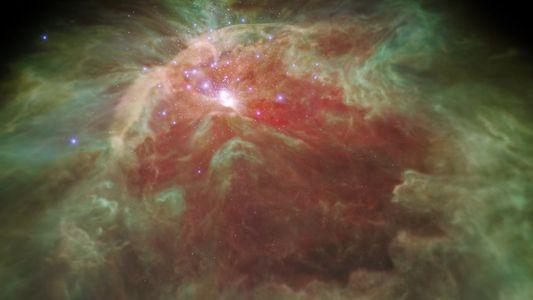 Sobrevuela la nebulosa de Orión en esta nueva visualización en 3D