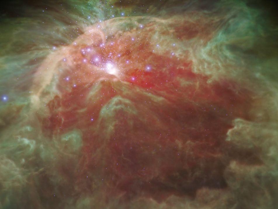VÍDEO: Nueva visualización 3D de la Nebulosa de Orión