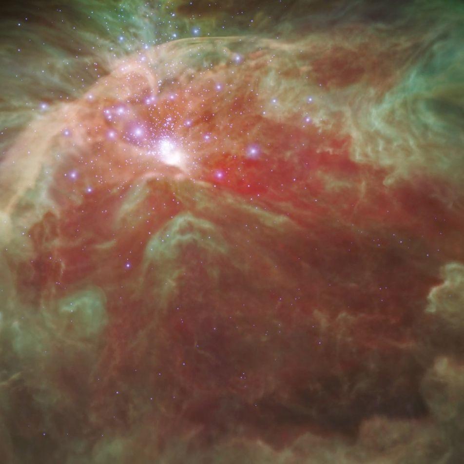 Visualización 3D de la Nebulosa de Orión