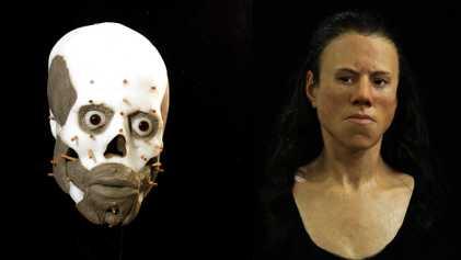 Reconstruido el rostro de una joven griega que vivió hace 9.000 años