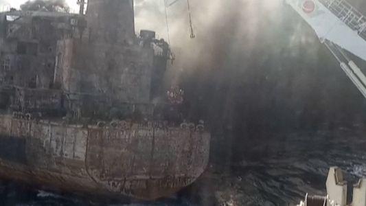 El vertido del petrolero en la costa de China podría tener impactos medioambientales duraderos