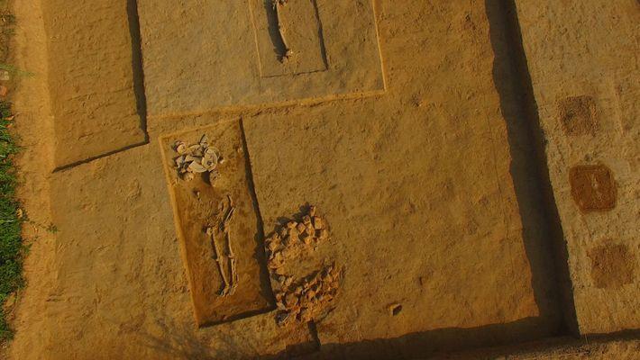 Descubren en India un antiguo cementerio de la civilización del valle del Indo