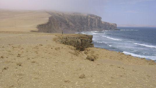 Playa desértica