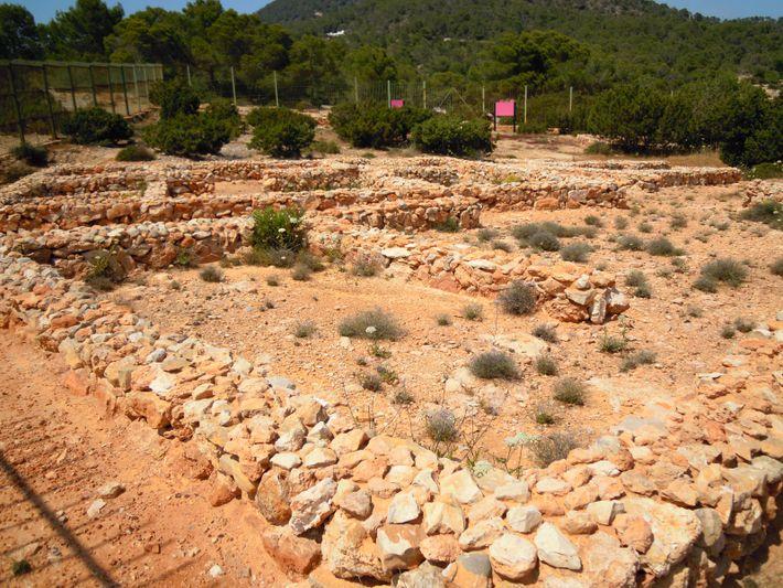 Asentamiento fenicio de Sa Caleta, Ibiza.