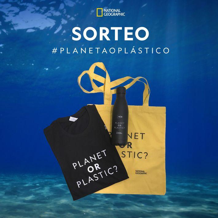 Sorteo planeta o plástico