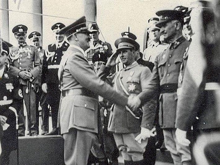 Hitler y Queipo de LLano