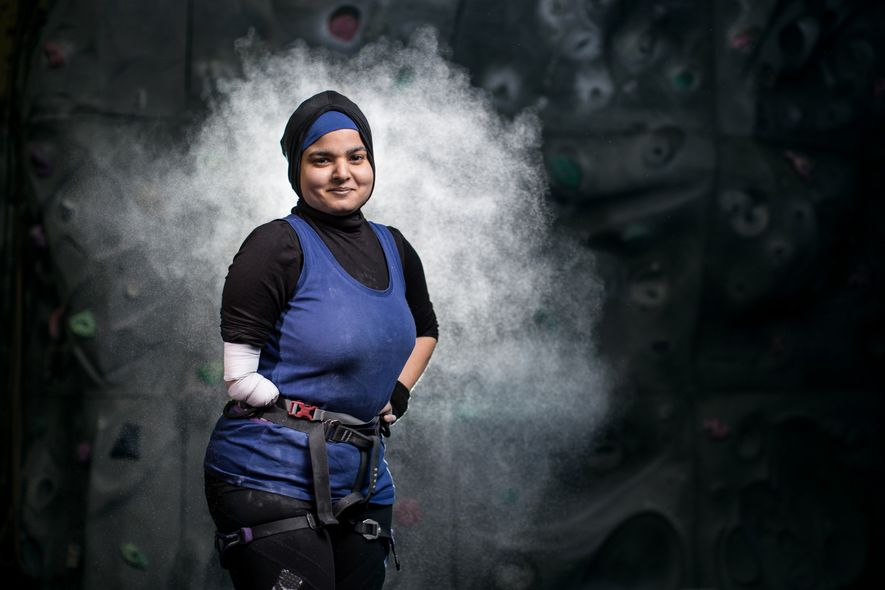 Anoushé Husain nació sin antebrazo derecho y ha sobrevivido al cáncer. El fotógrafo deportivo Samo Vidic ...