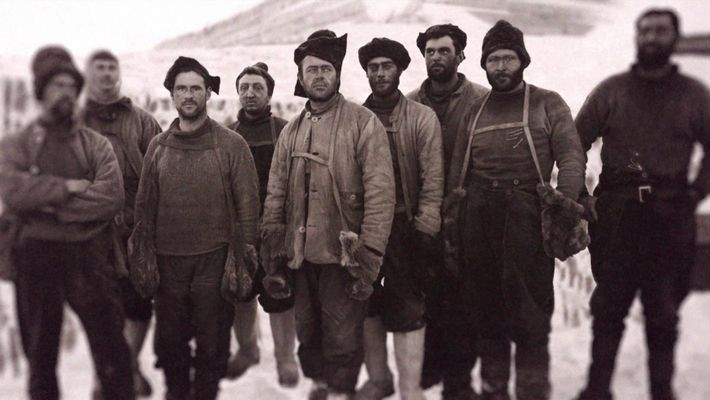 La última expedición de Robert Falcon Scott