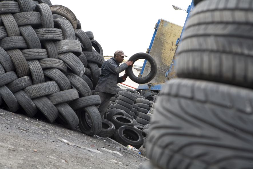 El reciclaje de neumáticos marca el camino de la economía circular en España