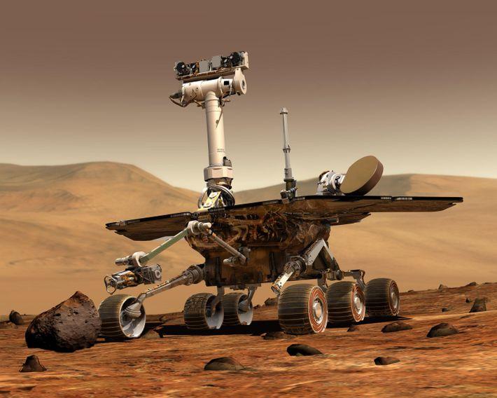 Apolo Expedición a Marte: Spirit y Opportunity
