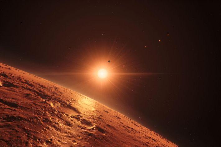 Sistema solar Trappist